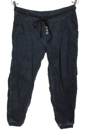 Vintage Stoffhose blau Casual-Look
