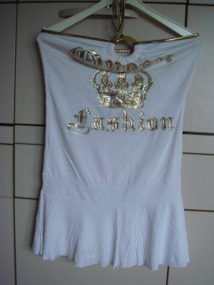 Vintage Badpak licht beige-zandig bruin Viscose