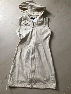 Street One Robe à capuche beige clair tissu mixte