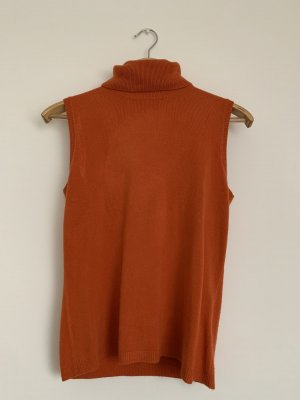 Vintage Neckholder Top orange-dark orange