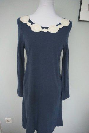 Vintage Strickkleid dunkelblau