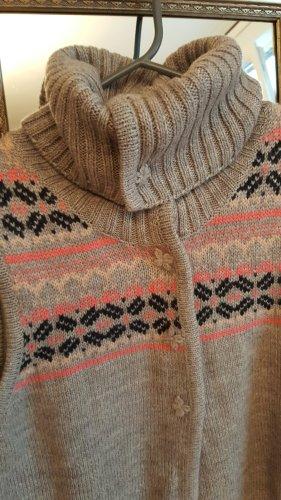 Ohne Smanicato lavorato a maglia multicolore