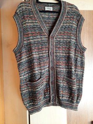 Missoni Gilet tricoté multicolore laine