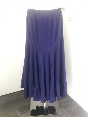 skyline düsseldorf Broomstick Skirt dark violet polyester