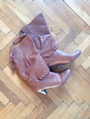 Slouch Boots multicolored leather