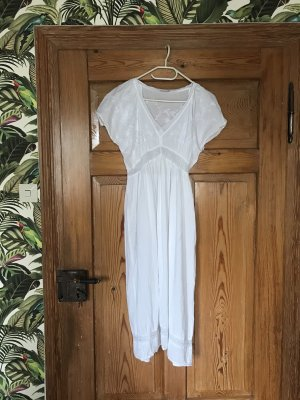 Zara Basic Pijama blanco Algodón