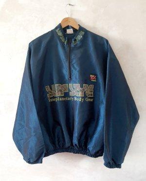 Vintage Oversized Jacket blue-dark blue