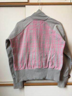 Blusón color plata-rosa neón Algodón