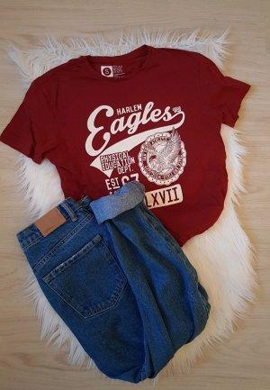 American Vintage T-shirt bordeaux