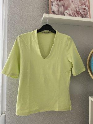 More & More Maglia con scollo a V menta-verde pallido