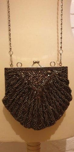 Minibolso color bronce-gris oscuro