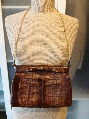 Vintage Tasche aus Krokodil Leder 1950er Jahre