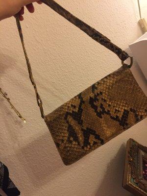 Vintage Tasche- echtes Schlangenleder