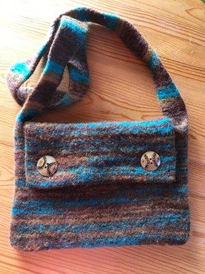 Vintage Tasche Filztasche
