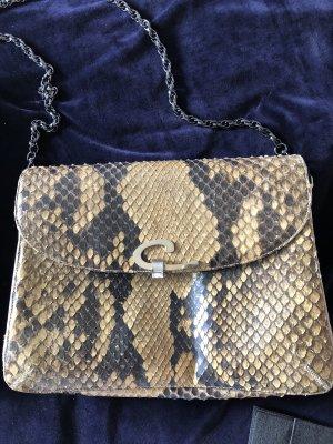 Vintage Tasche in Schlange mit Kette von Bree