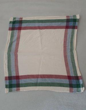 Vintage Pocket Square multicolored cotton