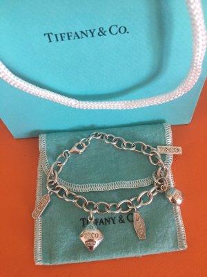 Tiffany&Co Bracelet à breloques argenté