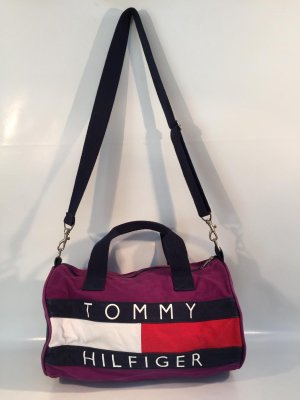 Tommy Hilfiger Bowling Bag multicolored cotton