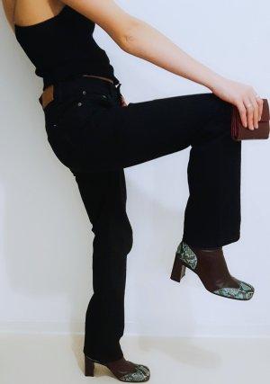 Tommy Hilfiger Denim Pantalón de tubo negro