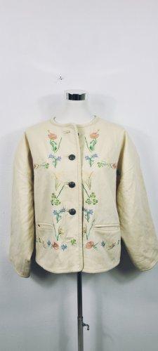 Vintage Chaqueta folclórica multicolor