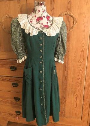 Rose Dirndl aus Bayern Dirndl forest green cotton