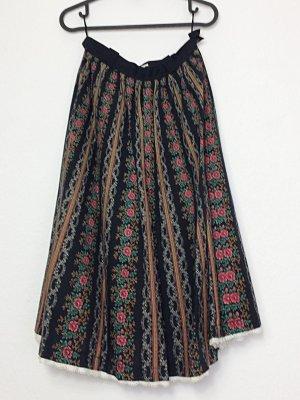Vintage Trachtenrock ES Moden Größe 38 Baumwolle Folklore