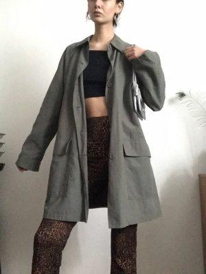 vintage trenchcoat cos look