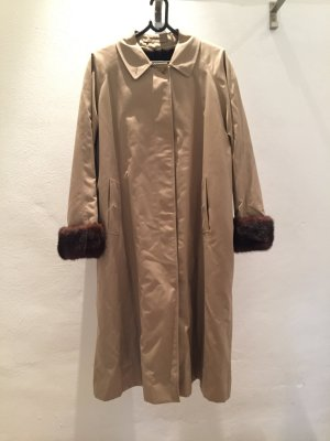 Burberry Trench Coat camel-black brown pelt
