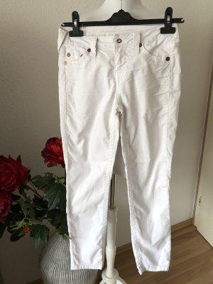 True Religion Corduroy Trousers white