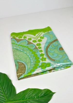 Vintage Tuch / Schal mit Mandala Design in Retro Farben