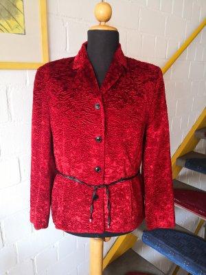 Vintage Tuzzi Blazer Jacke Jacket Samt