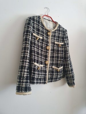 Unbekannter designer Blazer in tweed multicolore