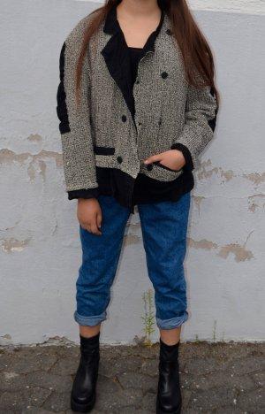 Vintage Übergangs Jacke Oversized
