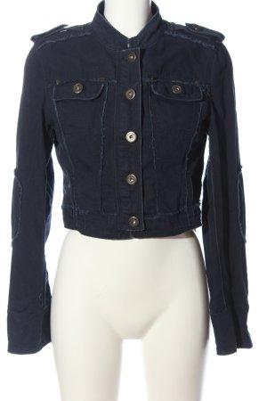 Vintage Übergangsjacke blau Casual-Look