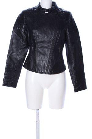 Vintage Übergangsjacke schwarz Casual-Look