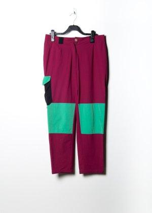 Vintage Unisex Anzughose in Violett