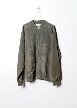 Bailey44 Bomber Jacket green silk