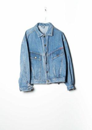 Vintage Unisex Denim Jacket in Blau