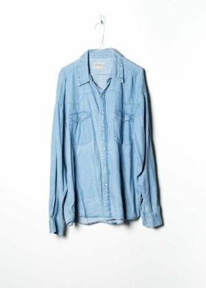Chemise en jean bleu jean