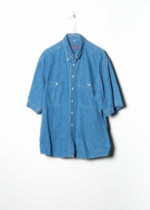 accento Chemise en jean bleu jean
