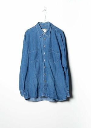 via cortesa Chemise en jean bleu jean