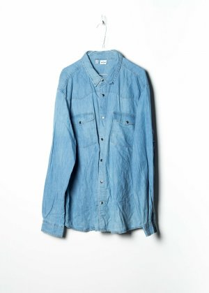 Sonstige Chemise en jean bleu jean