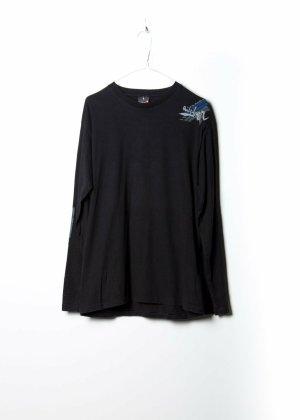 Vintage Unisex Sweatshirt in Schwarz