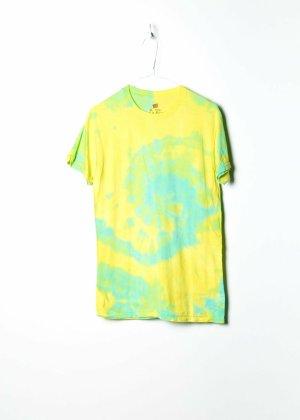 Hanes Print Shirt yellow cotton