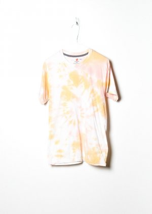 Vintage Unisex Tie Dye in Orange