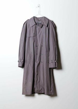 Vintage Unisex Trenchcoat in Grau