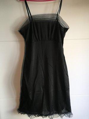 Vintage Unterkleid schwarz M 38