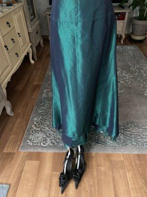 Vero Moda Jupe longue bleu pétrole
