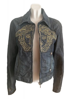 Versace Denim Jacket multicolored