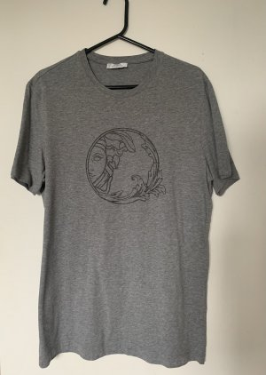 Versace Collection T-Shirt grey-silver-colored
